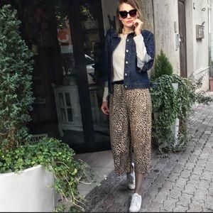ZARA leopard culottes